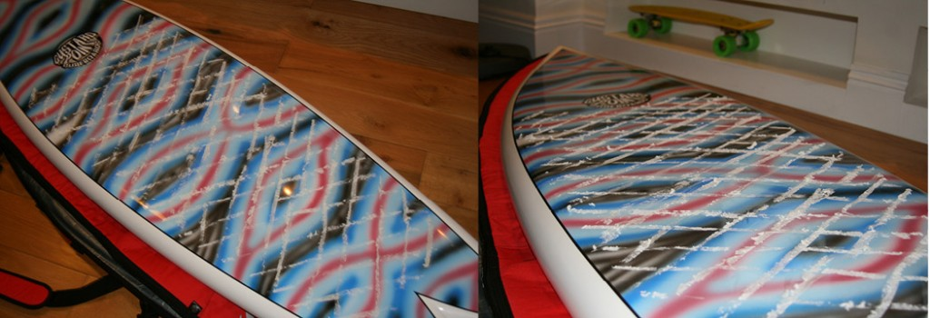 how to wax a surf board